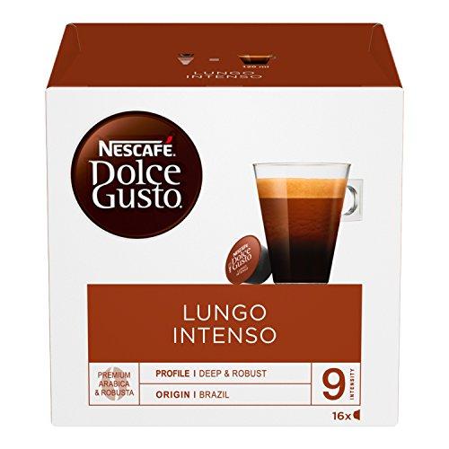NescafÉ dolce gusto lungo intenso, caffè lungo, 3 confezioni da 16 capsule (48 capsule)