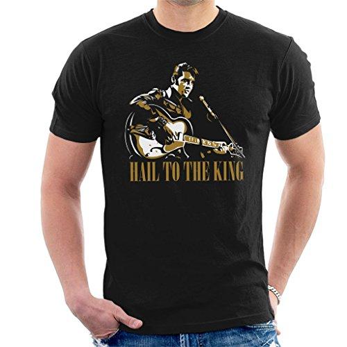 Hail To The King Elvis Presley Men's T-Shirt
