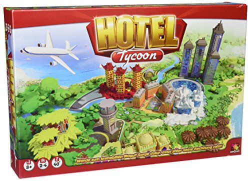 Asmodee 001919 - Hotel Tycoon, - Ohne Monopoly Geld