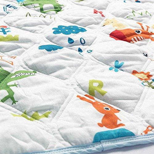 i-baby Baby Wickeldecke Decken Newborn Strick Decke bedruckt Wrap Infant Pucken Weiche Baumwolle Komfort Fall Winter Bettwäsche 80x 80cm Unisex Jungen Mädchen Prairie