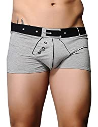 Xuba Men's Cotton Trunk(XB1411207003_Grey_XL)