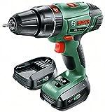 Bosch PSB 14,4 LI-2 Nero, Verde Trapano con impugnatura a pistola Ioni di Litio 2Ah 1700g