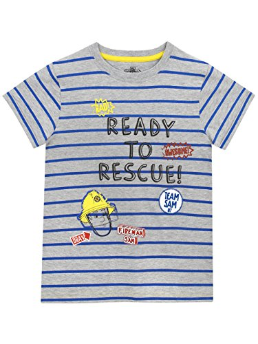 Fireman Sam Boys Shirt Ages 18 Months To 7 Years