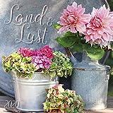 Land & Lust 2020: Broschürenkalender mit Ferienterminen. Landleben und Gärten. 30 x 30 cm -