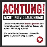 """Schlüsselanhänger Set aus Holz, rund mit Gravur """"Im Schicksal gefunden, durch Liebe verbunden!"""" - 2"""