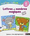 Coloriages Malins - Lettres et nombre...