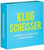 """Kartenspiel / Partyspiel """"Klugscheisser"""" - für einen unvergesslichen Spieleabend - lustiges Fragespiel mit mehr als 300 lustigen, kuriosen & überraschenden Fragen - Frage & Antwort Spiel"""