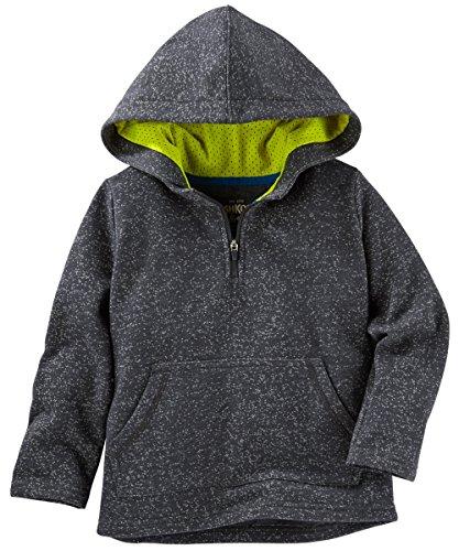 OshKosh Boys' Fleece Active Pullover With Hoodie (14) - Oshkosh Fleece Hoodie
