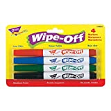 Best Trend Enterprises Educational Toys - Trend Enterprises Wipe-Off Markers (Pack of 4), Standard Review
