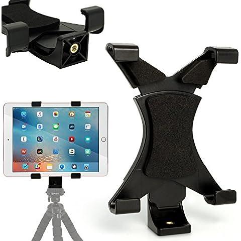 igadgitz Universal Adaptador Soporte Montaje de Tablet para Trípode con 1/4 Hilo - Adecuado para Tabletas de 4.8