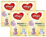 Milumil HA Pre Anfangsmilch - von Geburt an, 4er Pack (4 x 600g)