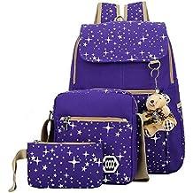 478b8e65ac99e ZLXING Schulrucksack Schultasche Schulranzen Mädchen Schulrucksack  Jugendliche Schulrucksack Sportrucksack Freizeitrucksack Daypacks Backpack  für Mädchen ...