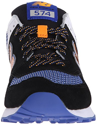 New Balance Women's WL574 Summit Running Shoe Black/Steel