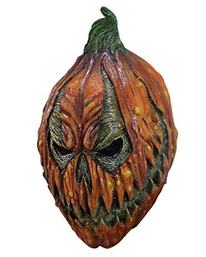 Pumpkin Maske Kürbismann (Kleine Vogelscheuche Kostüme)