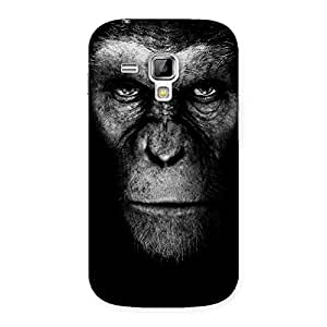 Stylish Black King Chimp Back Case Cover for Galaxy S Duos