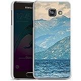Samsung Galaxy A3 (2016) Housse Étui Protection Coque Paysage alpin Montagnes Lac