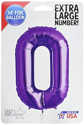Violet numéro 0 ballons de Super Forme Fleuret (dégonflé)