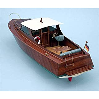 Aeronaut Diva Cabin Cruiser Wooden Model Boat Kit Ideal Beginners model