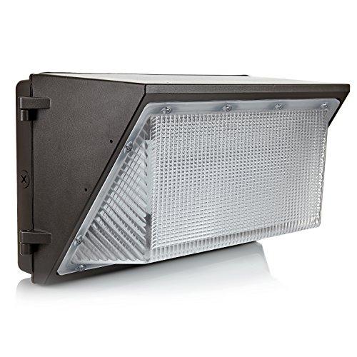 Hyperikon - heller LED-Außenwandstrahler / 90W ersetzt 600W / wetterfest IP65/ Tageslichtweiß (5000K) / LED-Sicherheitslicht / für Lagerhäuser, Fassaden, dunkle Vorplätze, Parkplätze & Geschäfte