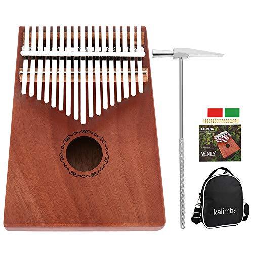 Kalimba - Piano pulgar 17 teclas martillo afinación