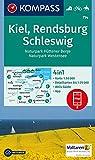Kiel, Rendsburg, Schleswig: 4in1 Wanderkarte 1:50000 mit Aktiv Guide und Detailkarten inklusive Karte zur offline Verwendung in der KOMPASS-App. ... 1:50 000 (KOMPASS-Wanderkarten, Band 714)