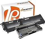Bubprint 2 Toner & Trommel kompatibel für Brother TN2000 DR2000 für DCP-7010 DCP-7020 Fax 2820 2920 HL-2030 HL-2032 HL-2040 HL-2070N MFC-7420 MFC-7820
