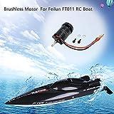 CHshe Motore Brushless, Motore Brushless 2400Kv Accessori Di Alta Qualità Di Ricambio Per Barca Feilun Ft011 Rc