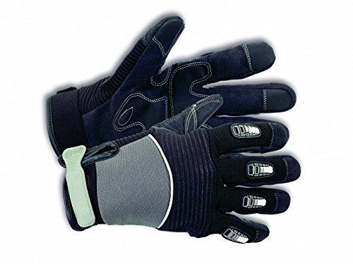 KIXX Handschuh Synthetik Leder / Fingerschutz Schwarz, Gr. 11 (Outdoor-synthetik-leder)