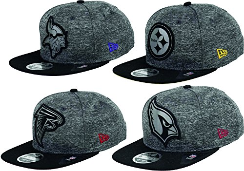 New Era Pittsburgh Steelers 9fifty Snapback Grey Collection Black/Grey - M - L