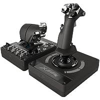 Logitech G X56 H.O.T.A.S Controller Acceleratore e Joystick RGB X56 HOTAS, 6 DoF Gradi di libertà, 4 Opzioni…