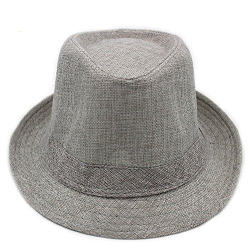 Chapeaux pour hommes/ chapeau à larges bords court été/Visière casquettes/ linge respirante chapeau d'été/Moyen-âge chapeau gentleman extérieur B