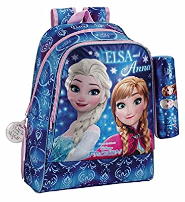 Frozen 611715538 Northen Lights Mochila escolar, 42 cm, Azul por Frozen