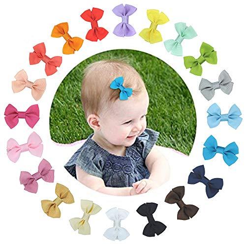 set da 20 Mollette per Capelli Bambina Fermagli Capelli ClipCapelli Antiscivolo Accessori per Bambina Alligatore Clip