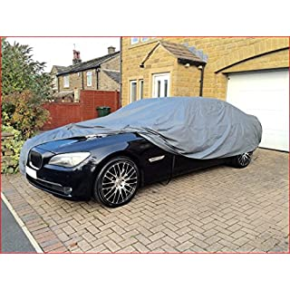 Shield Autocare CC1826 - Heavy Duty Fully Waterproof Car Covers Cotton Lined Water Resistant Car Cover-Durable & Cleanable Car Covers