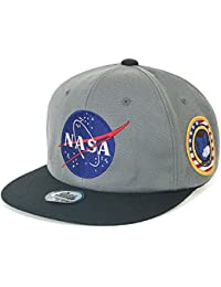 ililily NASA Meatball Logo Embroidery Baseball Cap Apollo 1 Patch Trucker  Hat aabe099b2c