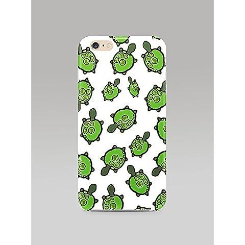 Tartaruga, colore: verde, motivo: tutto animal-cover in