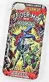 Spiderman et le Inhumans DC Marvel Super-héros Comic Coque Vintage pour iPhone 4/4s Rigide Coque en plastique
