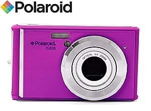 Ultra Compact Digital Camera Polaroid IS626 (16 Megapixel 6x Optical Zoom, Li-Ion Battery) (Purple)
