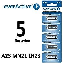 5pieza A2312V everactive de pilas alcalinas MN21V23GA de -23A 12V 55mAh...