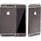 Heartly Sparking Bling Glitter Crystal Diamond Protective Film Whole Body Phone Skin Sticker For Apple iPhone 5 5S 5G / iPhone SE - Greyish Black
