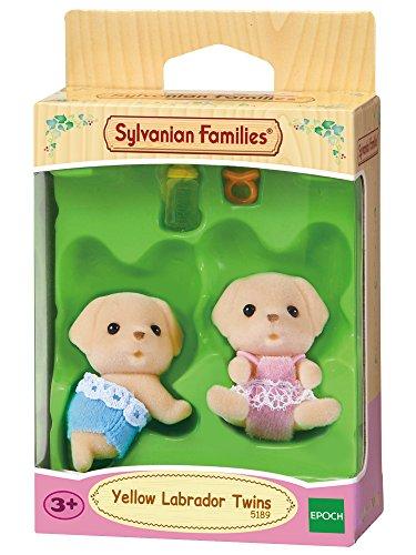 Sylvanian Families - 5189 - Mini-poupée - Jumeaux Labradors