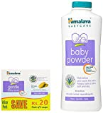 #5: Himalaya Baby Powder (400g) with Himalaya Gentle Baby Soap (300g, Pack of 4)
