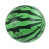 sourcingmap® Strand Sommer Party aufblasbar PVC Wassermelon Ball Obst Spielzeug