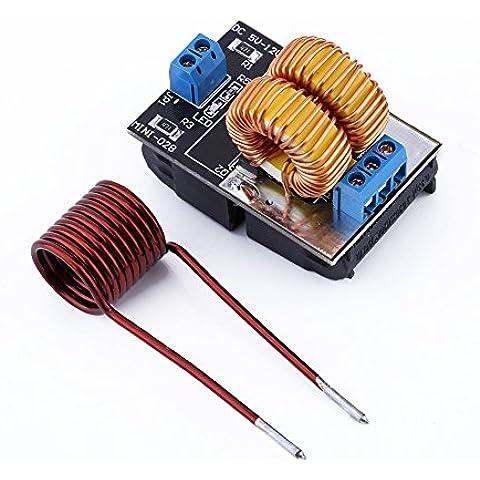 Yosoo 5V-12V baja tensión de inducción de energía Suministro de Calefacción módulo con la bobina