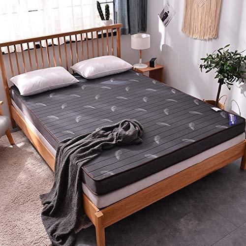 WZQ Memory Foam Matratze,Pad Bett Topper Verdicken Massage Matratze Für Doppel Einzigen Königin König Bett,Grau,150X200cm10cm