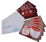 Weihnachts-Postkarten 15pieces