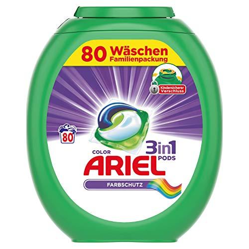 Ariel 3in1 PODS Color Farbschutz- 80Waschladungen
