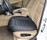 EDEALYN Haute qualité faux cuir Couverture de siège de voiture Siège avant capot...