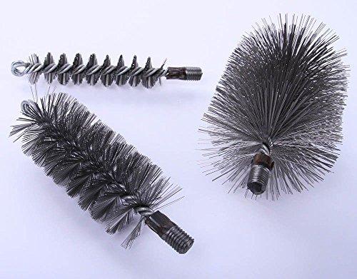 Heizkesselbürste Kaminbesen Ofenrohrbürste DRAHT verschiedene Größen (60mm)