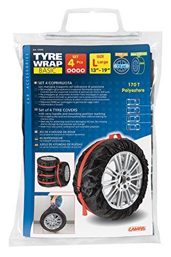 Lampa Reifentasche mit Tragegriff und Kennzeichnung 13''-19', 4er Set